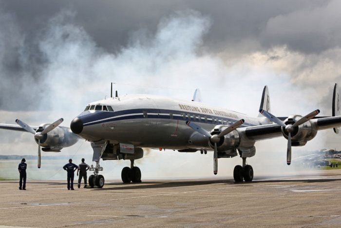Super Connie Flying Legends 2014. Foto: Gunnar Åkerberg